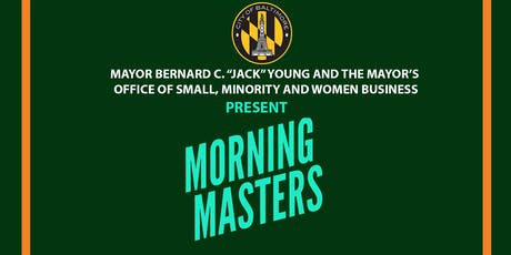 "Morning Masters: ""Wealth Creation in the African American Community"" tickets"