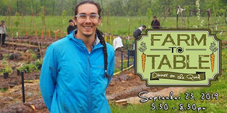 5th Annual Farm-to-Table Dinner on the Quad tickets