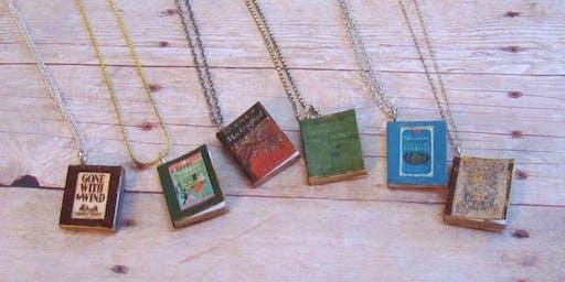 Tiny Book Jewelry
