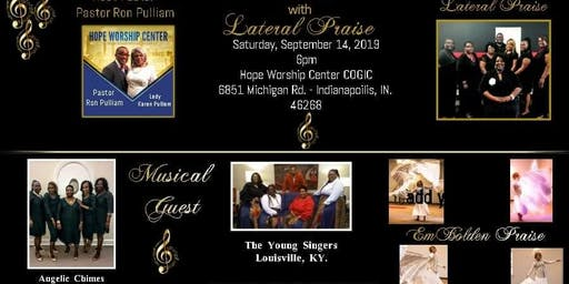 """A Night of Worshio with """"Lateral Praise"""""""