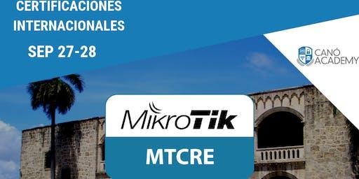 Certificación MikroTik MTCRE