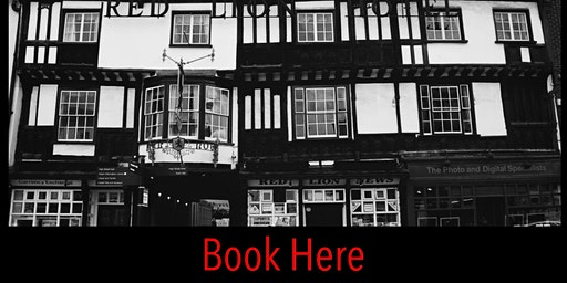 THE RED LION COLCHESTER  INTERACTIVE  GHOST HUNT 15/2/2020 9PM