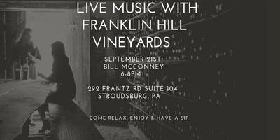 Live Music with Franklin Hill Vineyards