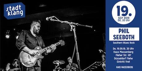 «stadtklang» m. Phil Seeboth Trio / live im Massenberg Tickets