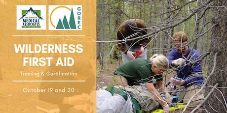 GOREC Learning Series - Wilderness First Aid (WFA) & Wilderness First Responder (WFR) Re-certification through Wilderness Medical Associates (WMA) tickets