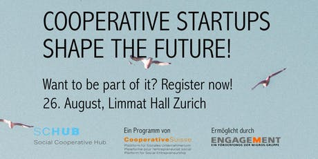 Cooperative Start-ups shape the Future! tickets