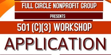 501(c)(3) Application Class tickets