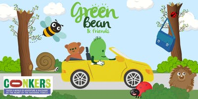 Green Bean & Friends Visit Conkers