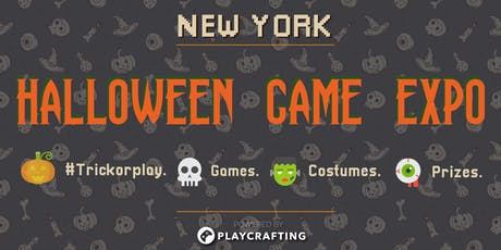 HALLOWEEN PLAY: NYC Game Expo tickets