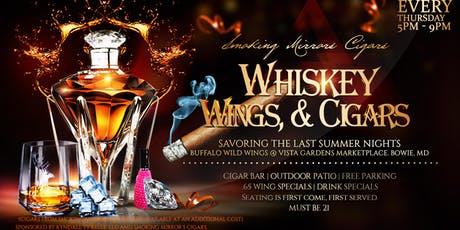 Smoking Mirror's Cigars Presents: Whiskey, Wings, & Cigars Social tickets