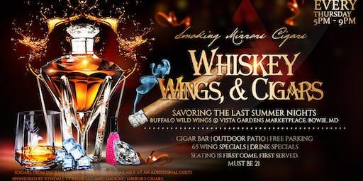 Smoking Mirror's Cigars Presents: Whiskey, Wings, & Cigars Social