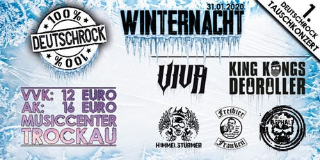 100% DEUTSCHROCK WINTERNACHT Tickets