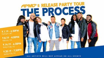 "APMD's Release Party Tour: ""The Process"""