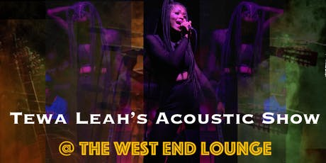 Tewa Leah's Acoustic Show tickets