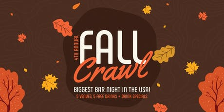 4th Annual Fall Crawl - Thanksgiving Eve Bar Crawl tickets