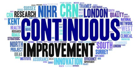 NIHR CRN Applying Continuous Improvement in Healthcare & Research tickets