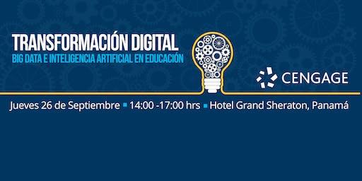 Transformación Digital: Big Data e Inteligencia Artificial en Educación