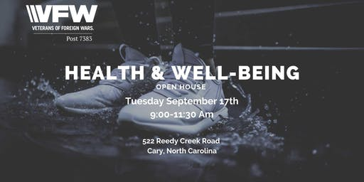 Health & Well Being Open House