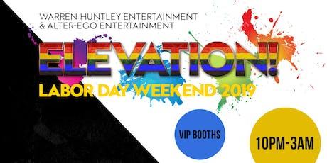 ELEVATION! Labor Day Weekend 2019 tickets