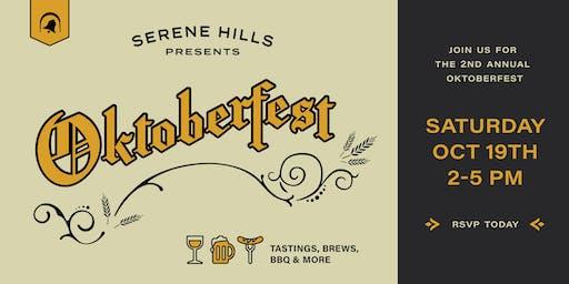 Celebrate Oktoberfest at Serene Hills