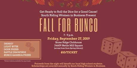 Fall for Bunco tickets