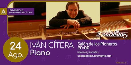 Ciclo de conciertos - Iván Cítera entradas