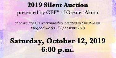 CEF of Greater Akron Silent Auction & Dinner Fundraiser
