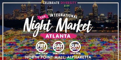 ATL International Night Market tickets