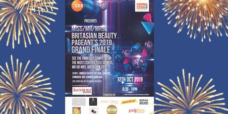 Miss/Mr/Mrs. BritAsian Beauty Pageant 2019 Grand Finale tickets