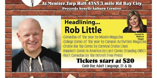 Cornfest Fundraiser Comedy Show - Rob Little