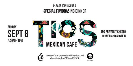 Pop Up to Support WICIR and Raices of Texas tickets