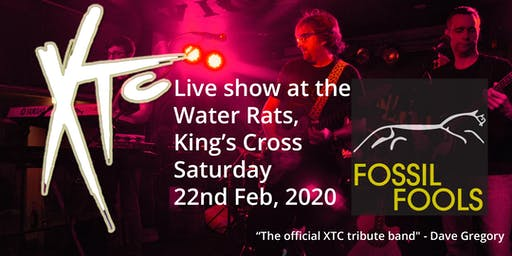 XTC tribute with Fossil Fools at The Water Rats