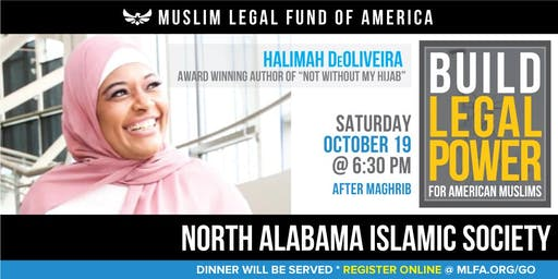Build Legal Power for American Muslims with Halimah DeOliveira - Madison, AL