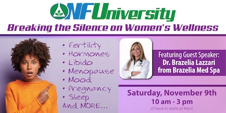 Breaking the Silence on Women's Health tickets