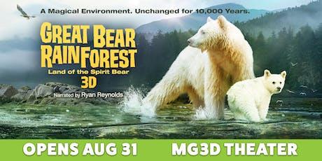Movie Premiere: Great Bear Rainforest tickets