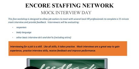 Mock Interview Day tickets
