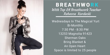 Breathwork In The Magical Yurt With Rebecca Kordecki tickets