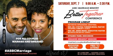 Marriage Ministry - Better Together Conference tickets