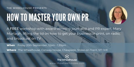 'How To Master Your Own PR' with Mary Murtagh tickets