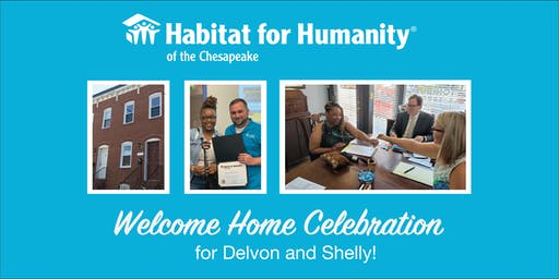 Welcome Home! Habitat for Humanity of the Chesapeake's Home Dedication