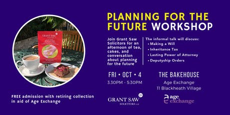 Grant Saw Planning For The Future Workshop tickets