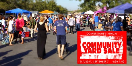 Community Yard Sale 2019 tickets