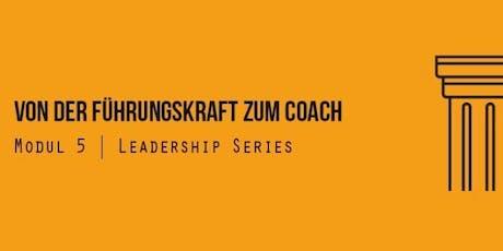 Von der Führungskraft zum Coach Tickets
