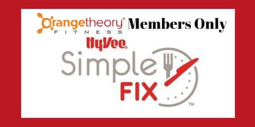 PRIVATE Orangetheory Simple Fix Meal Prep Workshop - Fall Favorites