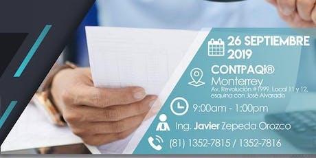 Monterrey, El SAT vs operaciones simuladas boletos