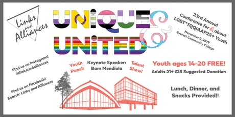 Links & Alliances 23rd Annual LGBTQIA+ Youth Conference tickets