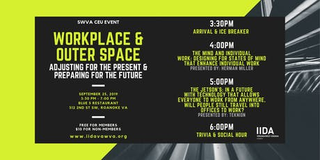 IIDA VAWV Workplace & Outer Space tickets