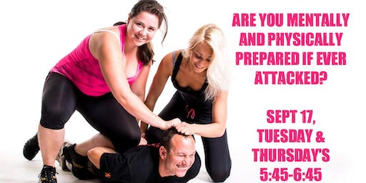 6 Week Women's Self-Defense Course
