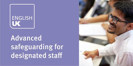 Advanced safeguarding for designated staff in ELT (formerly level 2) - London, 4 June tickets
