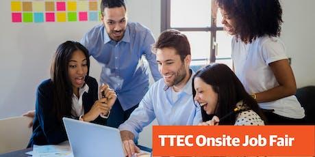 TTEC Job Fair tickets